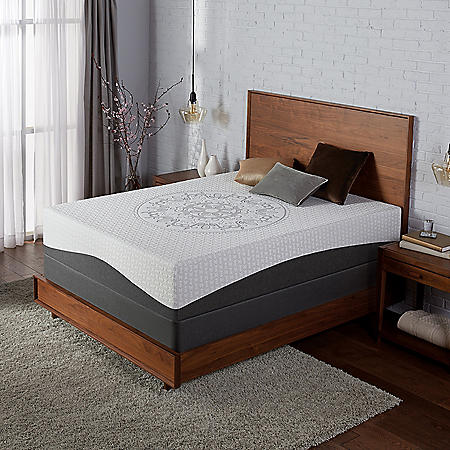 Serta Ultra Luxury Hybrid Shoreway Plush Mattress California King Set