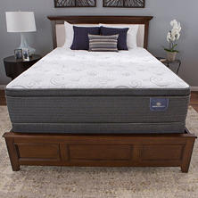 Serta Perfect Sleeper Hillgate II Cushion Firm Super Pillowtop Split Queen Mattress Set