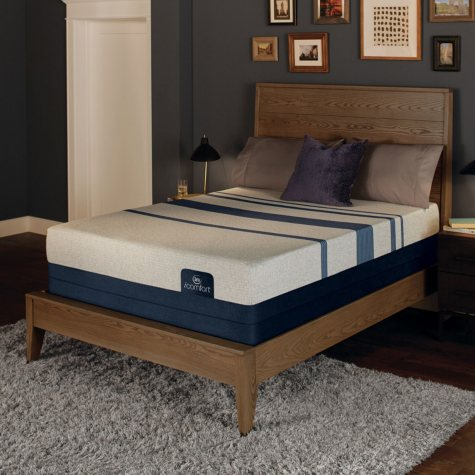 Serta iComfort Blue 500 Plush Gel Memory Foam Full Mattress Set