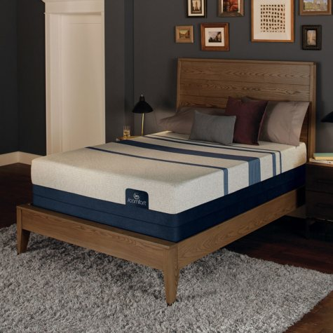 Serta iComfort Blue 300 Firm Gel Memory Foam Twin XL Mattress Set