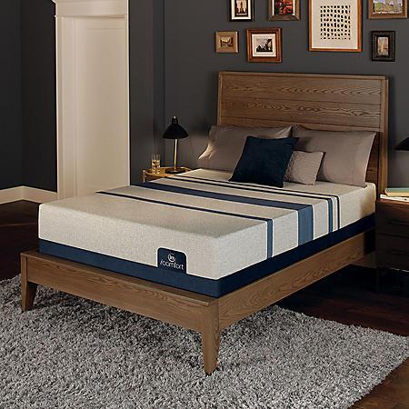 Serta iComfort Blue 100 Gentle Firm Gel Memory Foam Twin XL Mattress Set