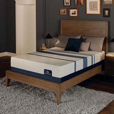 Serta iComfort Blue 100 Gentle Firm Gel Memory Foam Twin XL Mattress Set