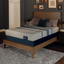 Serta iComfort Blue Max 1000 Plush Gel Memory Foam Queen Mattress Set