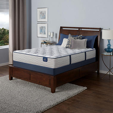 Serta Perfect Sleeper Castleview Limited Edition Plush Twin Mattress Set