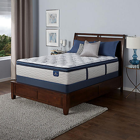 Serta Castleview Cushion Firm Pillowtop California King Mattress Set