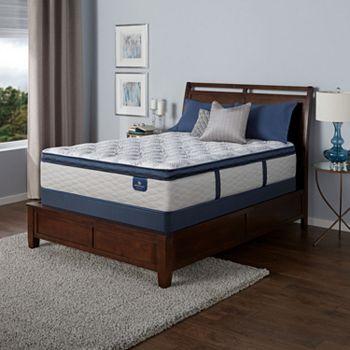 Serta Castleview Cushion Firm Pillowtop Queen Mattress Set