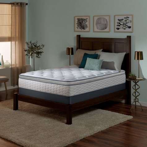 Serta Perfect Sleeper Wynstone II Super Pillowtop Queen Mattress Set