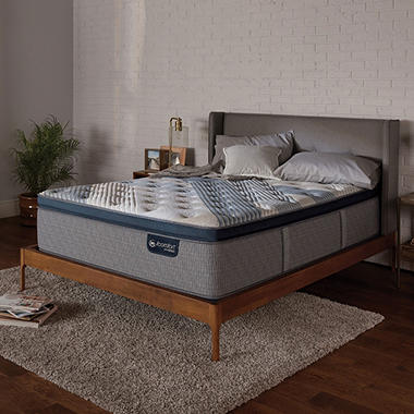 Serta iComfort Blue Fusion 4000 Plush Pillowtop Hybrid California King Mattress