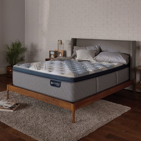 Serta iComfort Blue Fusion 4000 Plush Pillowtop Hybrid Twin XL Mattress