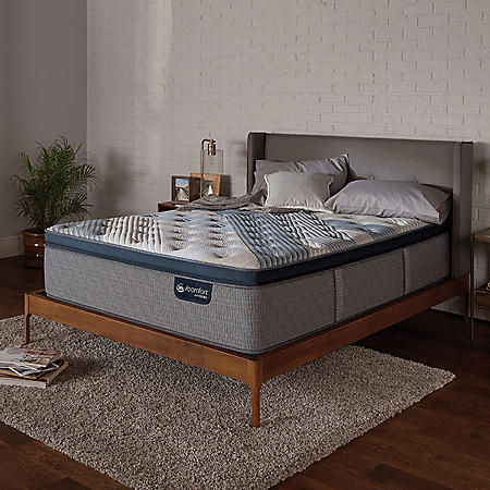 Serta iComfort Blue Fusion 1000 Luxury Plush Pillowtop Hybrid California King Mattress