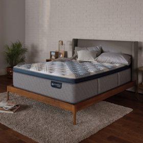 Serta iComfort Blue Fusion 1000 Luxury Plush Pillowtop Hybrid King Mattress