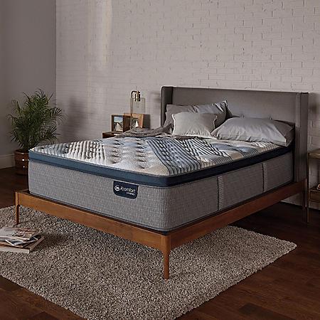 Serta iComfort Blue Fusion 5000 Cushion Firm Pillowtop Hybrid King Mattress