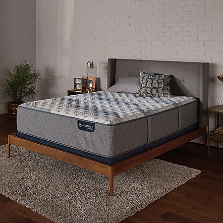 Serta iComfort Blue Fusion 100 Firm Hybrid King Mattress Set