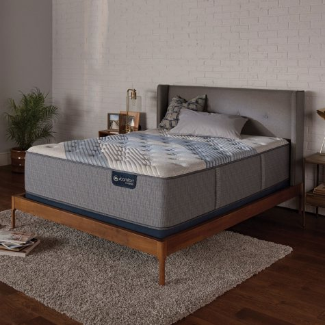 Serta iComfort Blue Fusion 3000 Plush Hybrid Twin XL Mattress Set