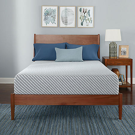 "Serta SleepToGo 10"" Gel Memory Foam Luxury California King Mattress"