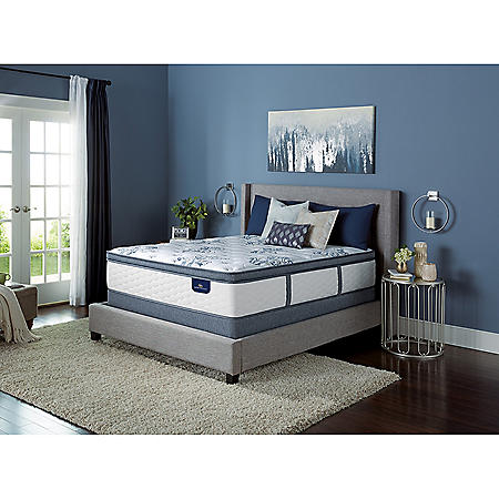 Serta Kerrington Cushion Firm Pillowtop Mattress Set (Club Pickup)