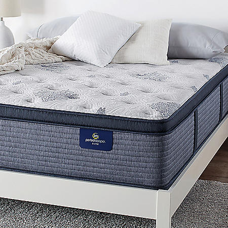 Serta Perfect Sleeper Elite Eldenwood Plush Pillowtop Twin XL Mattress Set