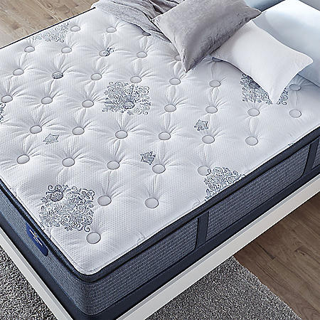Serta Perfect Sleeper Luxury Hybrid Glenmoor Firm Pillow Top Twin Mattress Set