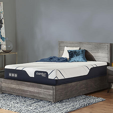 iComfort by Serta CF3000 Medium Queen Mattress Set