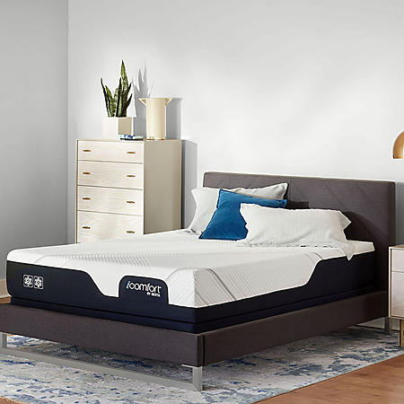 iComfort by Serta CF2000 Firm King Mattress Set