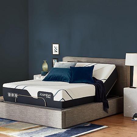 Serta iComfort CF4000 Plush King Mattress and Motion Perfect Adjustable Base Set