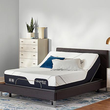 Serta iComfort CF2000 Firm King Mattress and Motion Perfect IV Adjustable Base Set