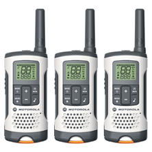 Motorola Talkabout T261TP Two-Way Radio- White (3 Pack Bundle)