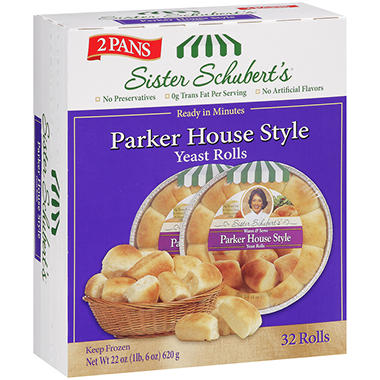 Sister Schubert's Parker House Style Yeast Rolls (32 ct.)