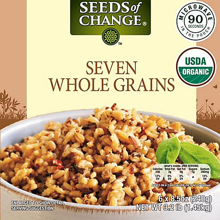 Seeds Of Change Seven Whole Grains (8.5 oz., 6 pk.)