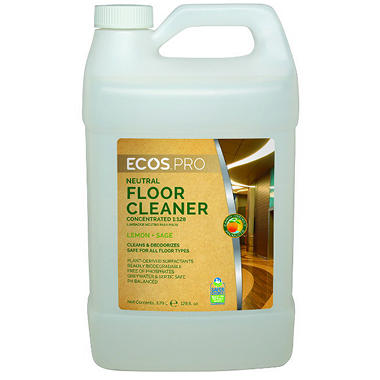 ECOS Proline Floor Cleaner for Hardwood and Laminates, Sage Scent (128 oz.)