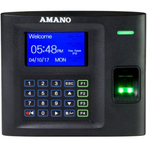 Amano MTX-30 Biometric WiFi Employee Time Clock Tracking System