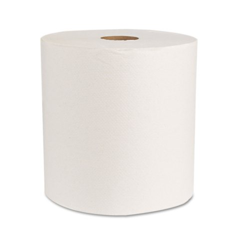 Boardwalk - Economy Hardwound Paper Towels, 1-Ply, 800 ft - 6 Rolls