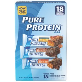 Pure Protein Bar Variety Pack 176 Oz18 Ct