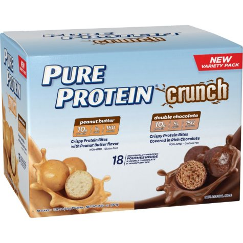 Pure Protein Crunch Variety Pack (18 ct.)
