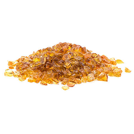 25 lb. Small Chestnut Landscape Glass