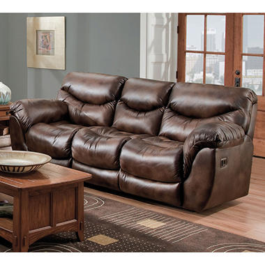 Superb Lane Dreamer Fabric Double Reclining Sofa