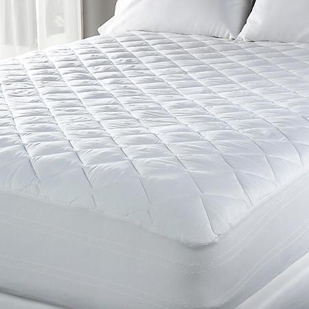 Eddie Bauer 300 Thread Count Premium Cotton Mattress Pad - Queen or King