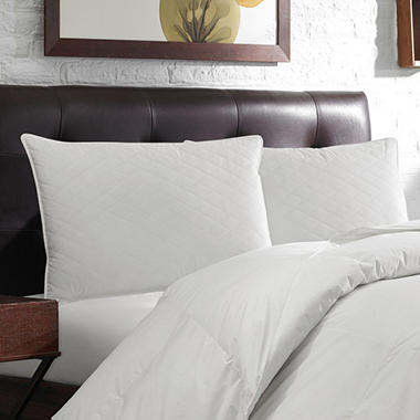 Eddie Bauer Extra Soft Density Quilted Feather Pillow, Standard Size