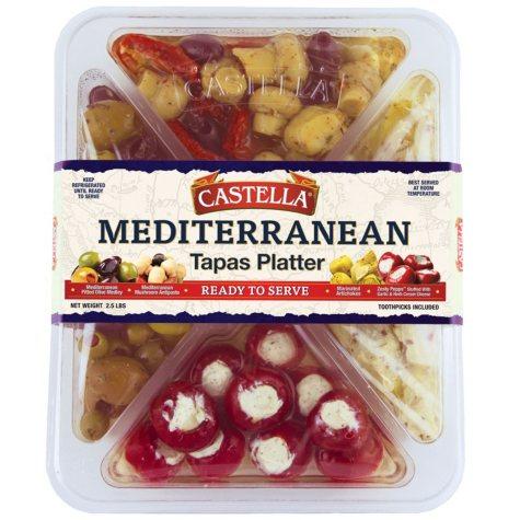 Castella Mediterranean Tapas Platter (2.5 lbs.)
