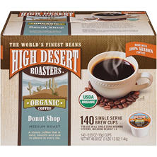 High Desert Roasters Donut Shop Coffee K-Cups (140 ct.)