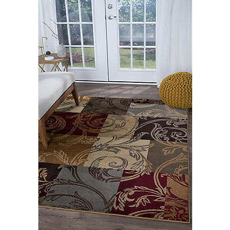 Impressions Scroll Area Rug (Assorted Sizes)