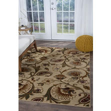 Charming Top Rated Impressions Floral Area Rug (Assorted Sizes)
