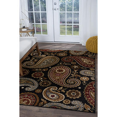 Impressions Paisley Area Rug (Assorted Sizes)