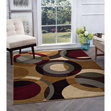 Festival Circles Area Rug (Assorted Sizes)