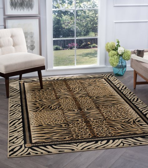 Festival Safari Area Rug (Assorted Sizes)