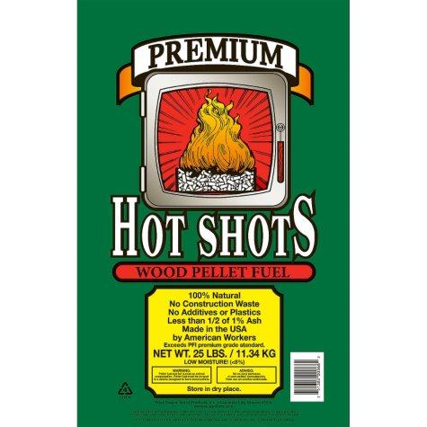 Hot Shots® Premium Wood Pellet Fuel - 25 lbs.