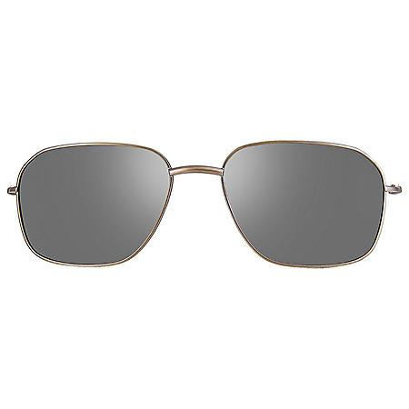 Callaway CA102 Semi-Matte Gunmetal Clip-On Sunglasses