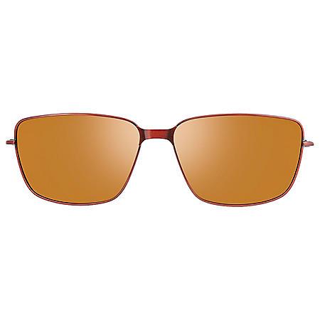 Callaway CA105 Brown Clip-On Sunglasses