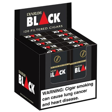 Djarum Black Filtered Cigars (10 ct., 12 pk.)