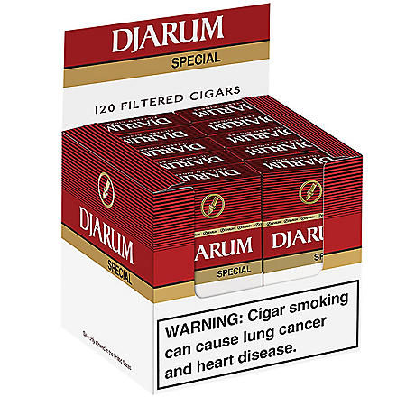 Djarum Special Filtered Cigars (10 ct., 12 pk.)